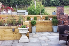 Garden walls in Stoke on Trent