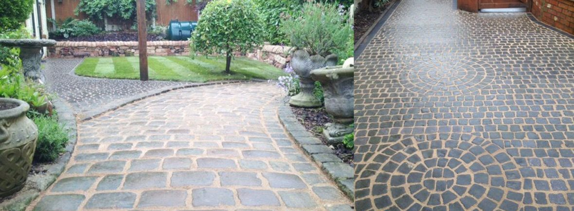 Cobble driveways in Stoke on Trent