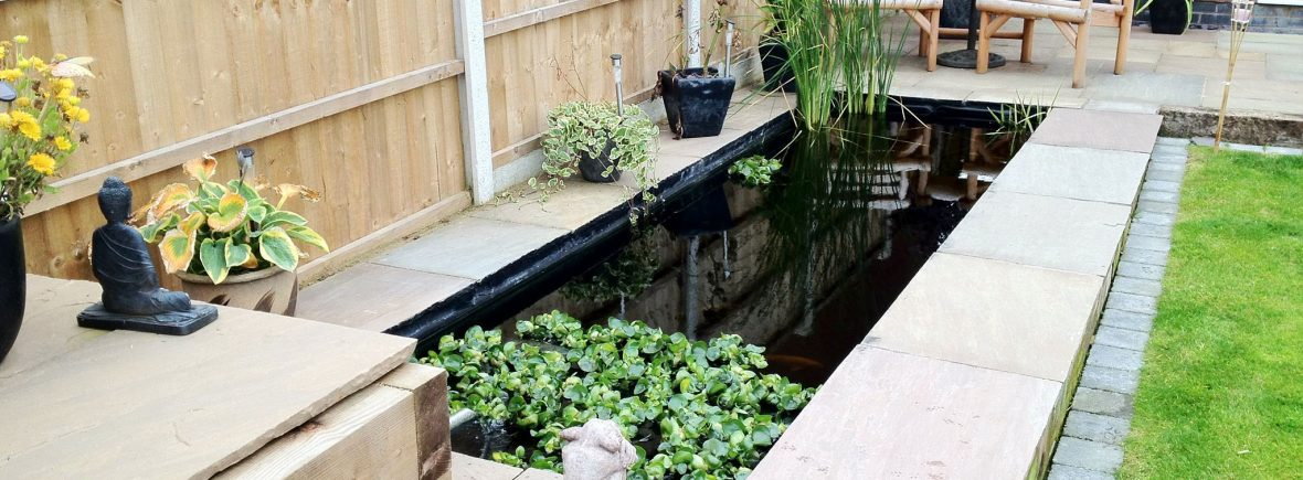 Water features in Stoke on Trent