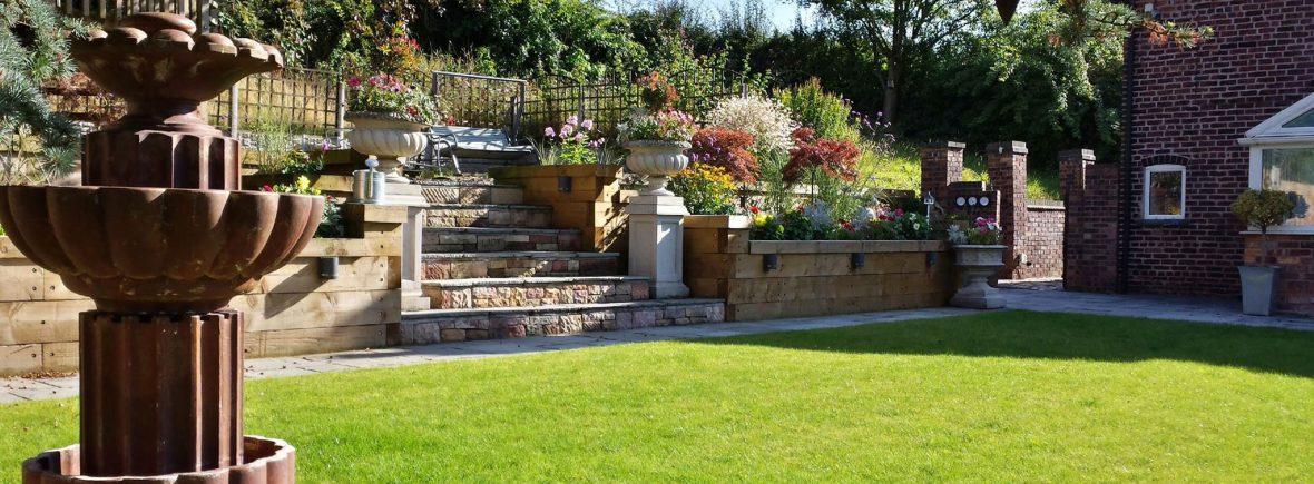 Garden walls Stoke on Trent