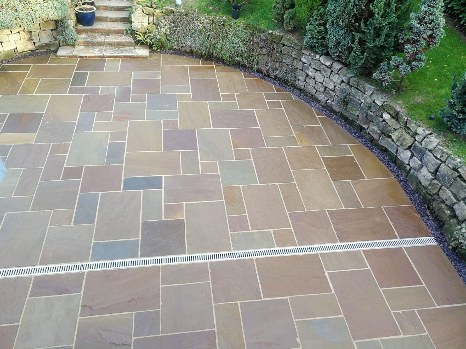 Indian Stone Paving In Stoke On Trent A Parr